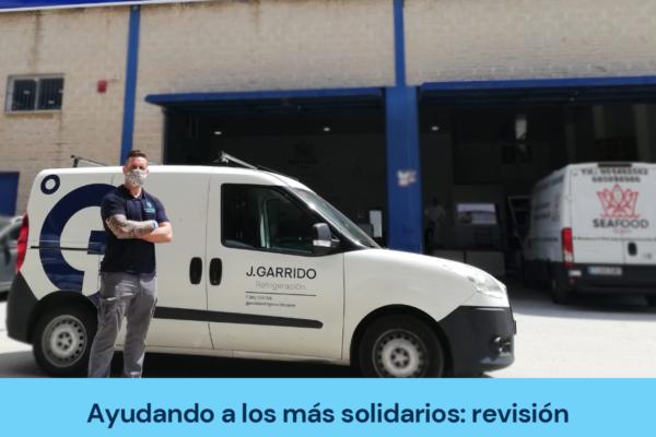 J Garrido ayuda a Seafood Aliss