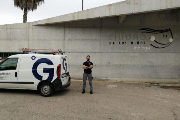 J. Garrido en Ciudad de los Niños