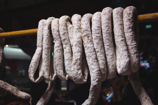 conservación salchichón de Málaga